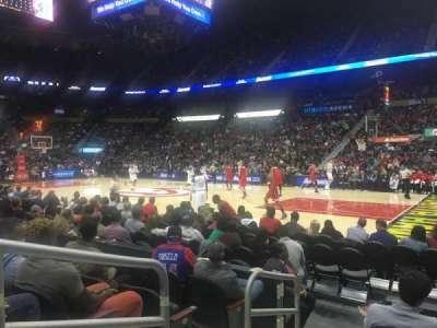Philips Arena, sección: 102, fila: E, asiento: 9-10