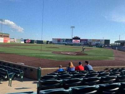 GCS Credit Union Ballpark, sección: 114, fila: G, asiento: 7