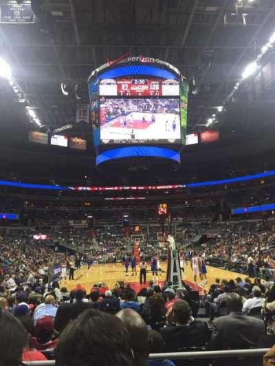 Capital One Arena, sección: 105, fila: C, asiento: 7