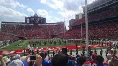 Ohio Stadium, sección: 8AA, fila: 10, asiento: 6