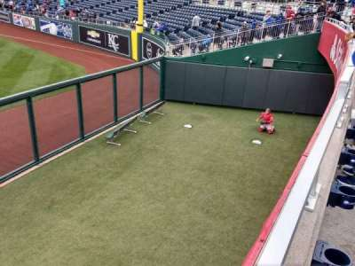 Kauffman Stadium, sección: 104, fila: a, asiento: 14