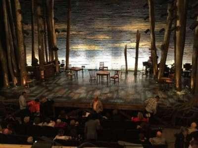 Gerald Schoenfeld Theatre, sección: Center Mezzanine, fila: A, asiento: 112