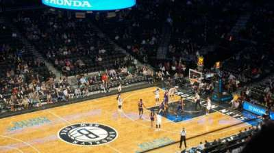 Barclays Center sección 210