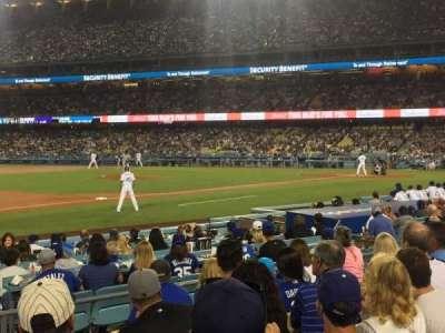 Dodger Stadium, sección: 31FD, fila: G, asiento: 3