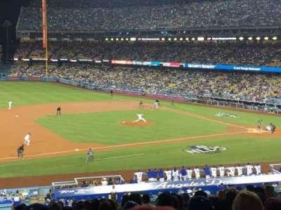 Dodger Stadium, sección: 137lg, fila: P, asiento: 8