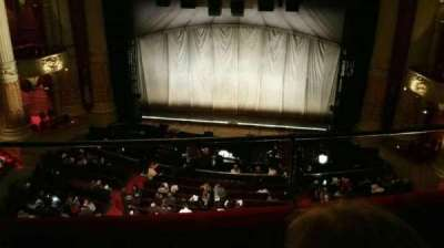 Academy of Music, sección: Family Circle E, fila: C, asiento: 101