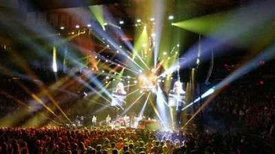 Madison Square Garden, sección: 106, fila: 1, asiento: 1