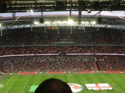 Wembley Stadium, sección: 501, fila: 39, asiento: 25