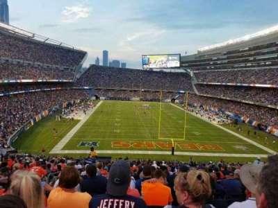 Soldier Field, sección: 223, fila: 22, asiento: 6