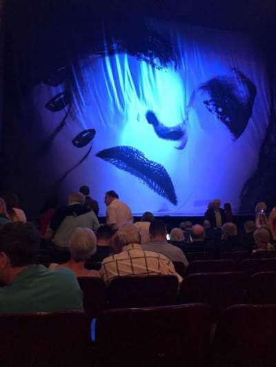Palace Theatre (Broadway), sección: Orchestra, fila: K, asiento: 115