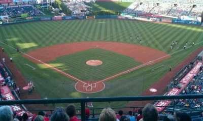 Angel Stadium, sección: V521, fila: A, asiento: 9
