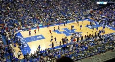 Rupp Arena, sección: 215, fila: D, asiento: 20
