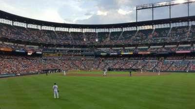 Oriole Park at Camden Yards, sección: 96, fila: 6, asiento: 17