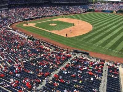 Nationals Park, sección: 222, fila: A, asiento: 1