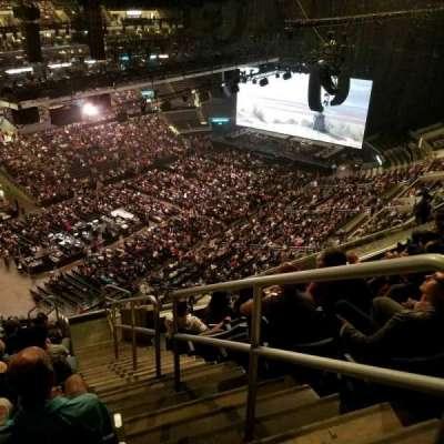 Staples Center, sección: 306, fila: 12, asiento: 1