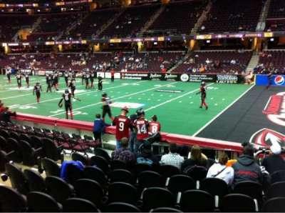 Quicken Loans Arena, sección: 131, fila: 12, asiento: 6