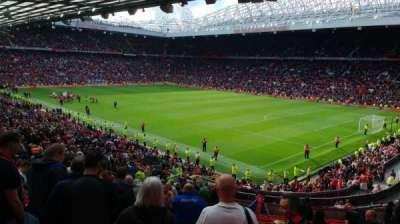 Old Trafford, sección: 230, fila: 27, asiento: 74