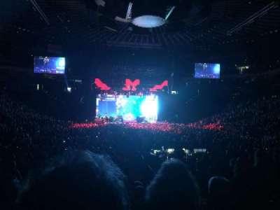 Oracle Arena, sección: 108, fila: 10, asiento: 11, 12