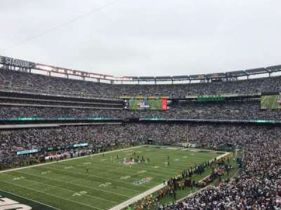 MetLife Stadium, sección: 245A, fila: 2, asiento: 7