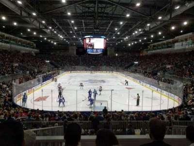 Ricoh Coliseum, sección: 115, fila: J, asiento: 18