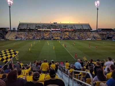 Mapfre Stadium, sección: 107, fila: 23, asiento: 1
