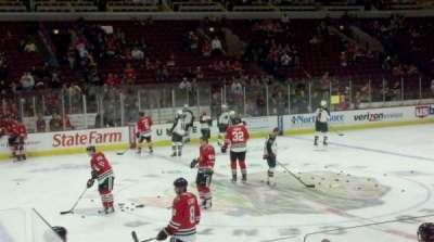 United Center, sección: 101, fila: 5, asiento: 21