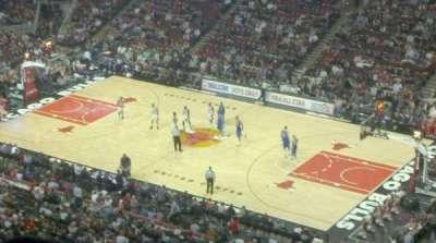 United Center, sección: 314, fila: 15, asiento: 19