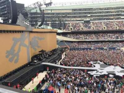 Soldier Field, sección: 342, fila: 1, asiento: 15