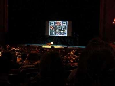 New Jersey Performing Arts Center, sección: Grand Tier Right, fila: E, asiento: 18