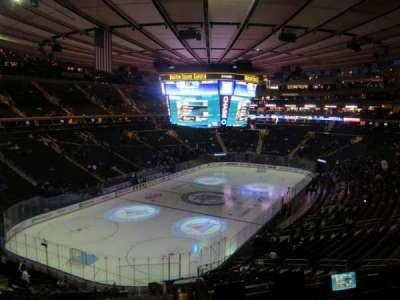 Madison Square Garden, sección: 219, fila: 5