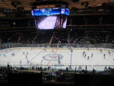 Madison Square Garden, sección: 225, fila: 2, asiento: 5