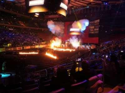 Madison Square Garden, sección: 104, fila: 10, asiento: 14