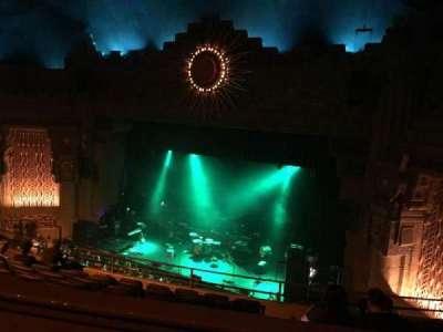 Aztec Theatre, sección: Balcony, fila: H, asiento: 2