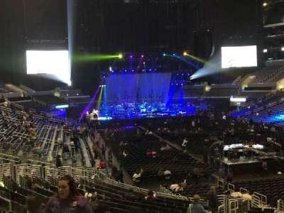 Staples Center, sección: 209, fila: 3, asiento: 9