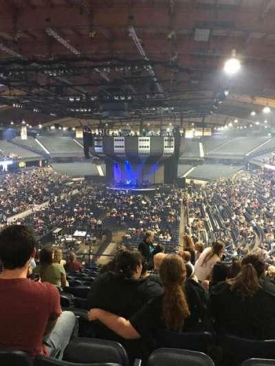 Allstate Arena, sección: 214, fila: M, asiento: 11
