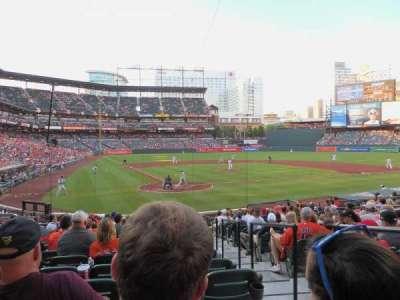Oriole Park at Camden Yards, sección: 32, fila: 19, asiento: 2