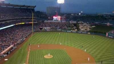 Angel Stadium, sección: V525, fila: E, asiento: 17