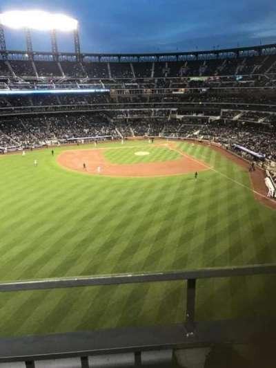 Citi Field, sección: 534, fila: 1, asiento: 2