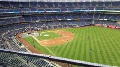 Yankee Stadium, sección: 409, fila: 1, asiento: 4