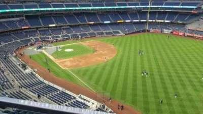Yankee Stadium, sección: 409, fila: 1, asiento: 5