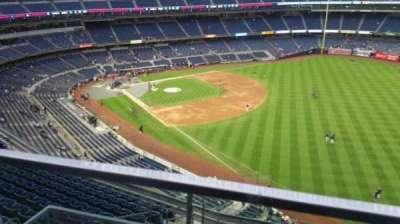 Yankee Stadium, sección: 409, fila: 1, asiento: 17