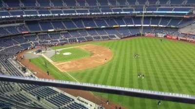 Yankee Stadium, sección: 409, fila: 1, asiento: 6