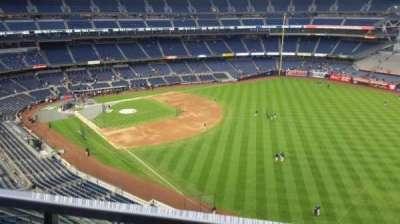 Yankee Stadium, sección: 409, fila: 1, asiento: 7
