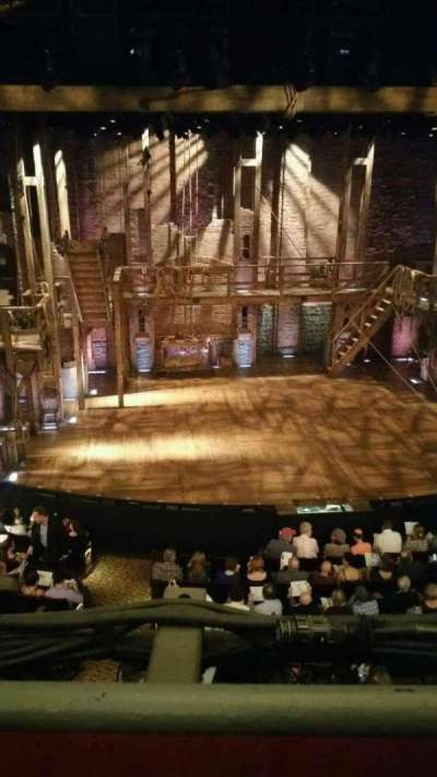 Richard Rodgers Theatre, sección: FMEZZ, fila: A, asiento: 114