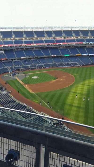 Yankee Stadium, sección: 409, fila: 2, asiento: 1