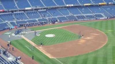 Yankee Stadium, sección: 410, fila: 1, asiento: 1