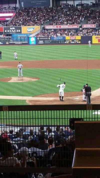 Yankee Stadium sección 121BS