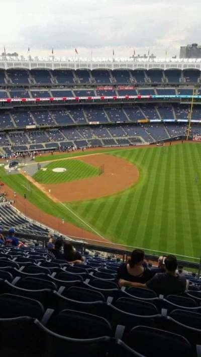 Yankee Stadium, sección: 409, fila: 11, asiento: 6