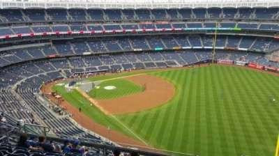 Yankee Stadium, sección: 409, fila: 11, asiento: 7