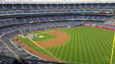 Yankee Stadium, sección: 409, fila: 11, asiento: 9